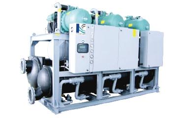 螺杆式水/地源热泵机组