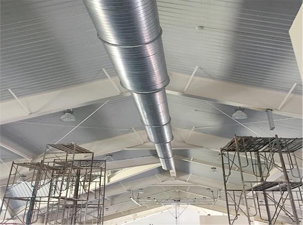 康桥学校风管工程