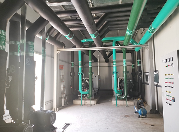 Vietnam minde central air conditioning project